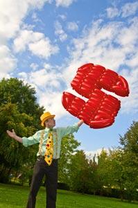 Luftballonkünstler Alexander Jenczmyk